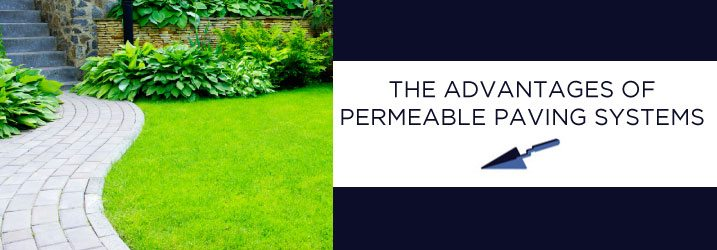 Permeable Paver Advantages