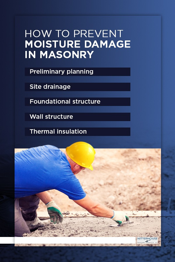 How to Prevent Moisture Damage in Masonry