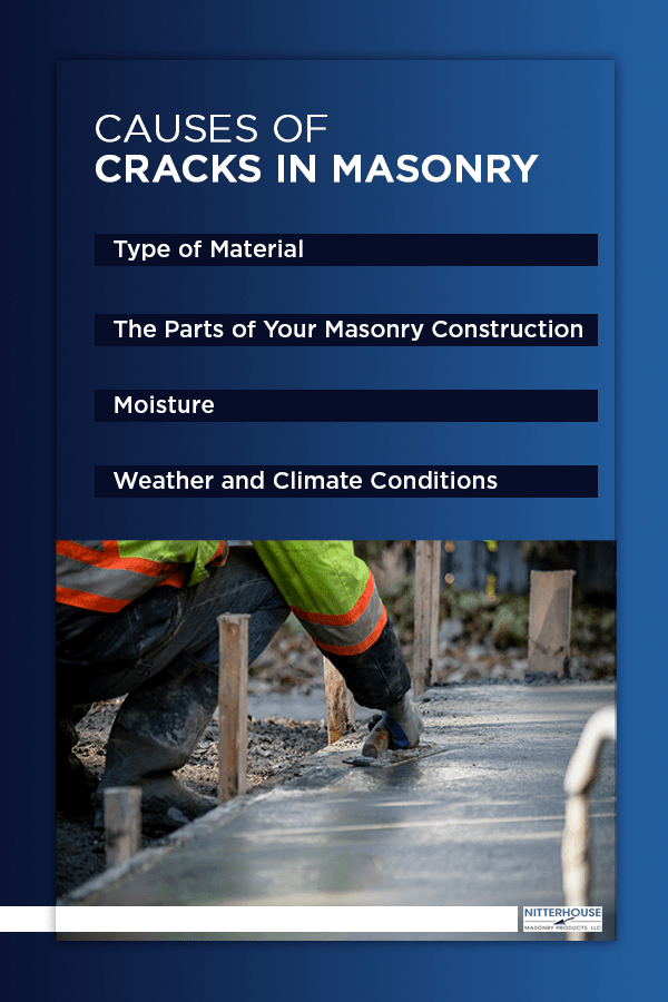 causes of cracks in masonry